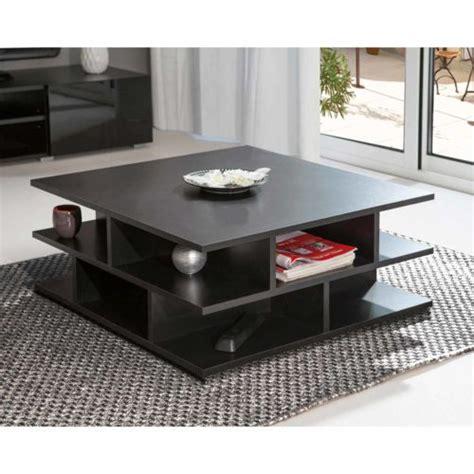 table basse carr 233 e en bois multicases tower noir 2130a7600x00 pas cher achat vente tables