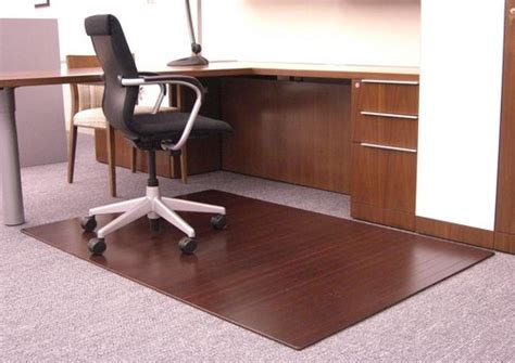 desk chair mats for thick carpet carpet vidalondon
