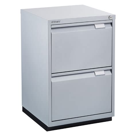 bisley silver premium 2 drawer locking filing cabinet the container store