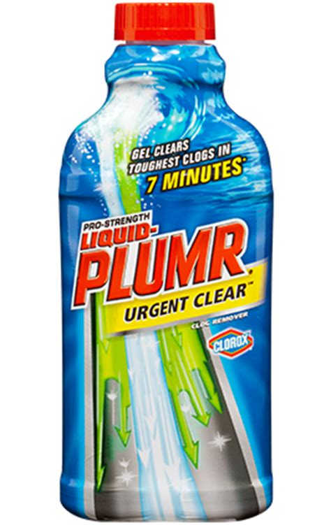 drain cleaners for kitchens bathrooms liquid plumr