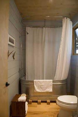 galvanized water trough bathtub cabin fervor livestock tank bathtubs