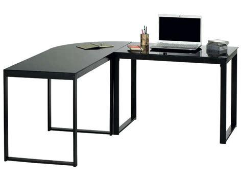 bureau d angle blacky coloris noir vente de bureau conforama