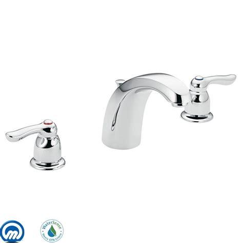 moen 4945 chrome handle widespread bathroom faucet