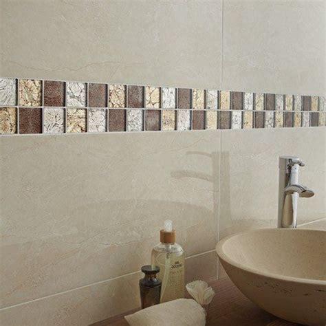 mosaique mur glass select mix marron salle de bain glass