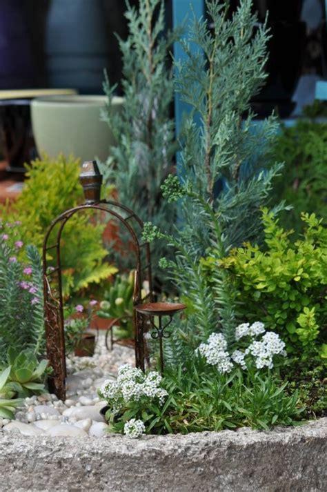 Fairy Garden Container Ideas Photograph  Container Fairy Ga