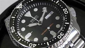2S Time - SEIKO SKX007K2 Jubilee Mens Watch Automatic 200m ...