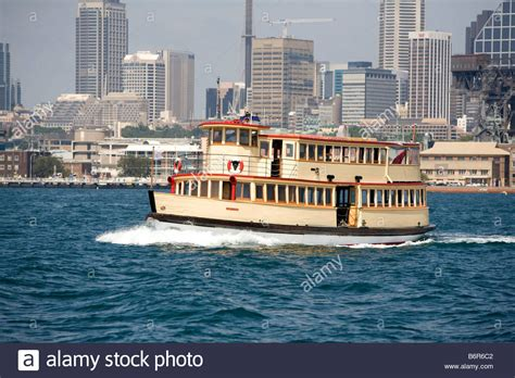 Wake Boat Hire South Australia by Vintage Boat Named Mv Proclaim Travels Across The Water In