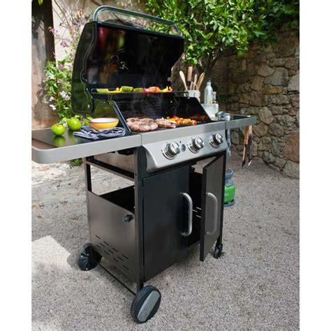 barbecue 224 gaz barker 300 prix promo castorama 269 00 ttc bons plans pas cher