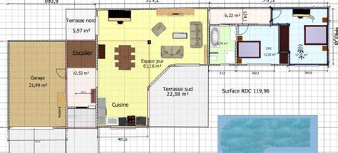 plan maison 160m2 gratuit ventana