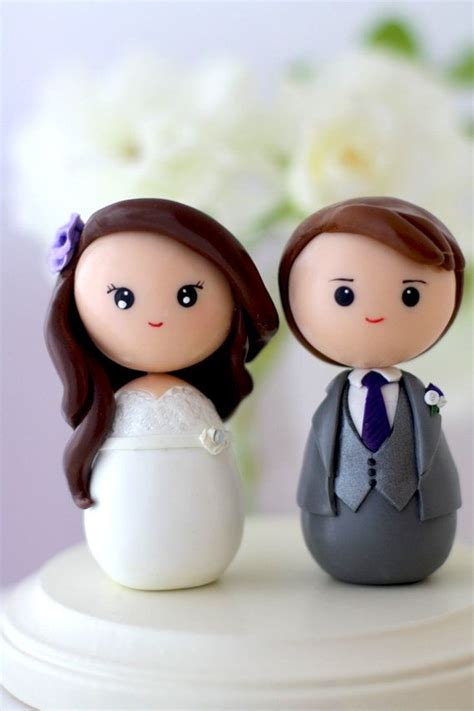 custom cake toppers personalized custom wedding cake topper kokeshi figrurines