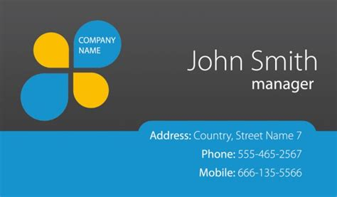 Fresh Business Cards Template Psd Psd File