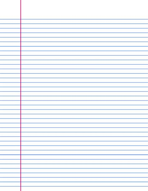 Lined Paper Large Templates  Samples And Templates