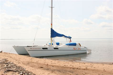 Catamaran Trailers For Sale Craigslist by 1981 Stiletto 27 With Trailer Sold Stiletto