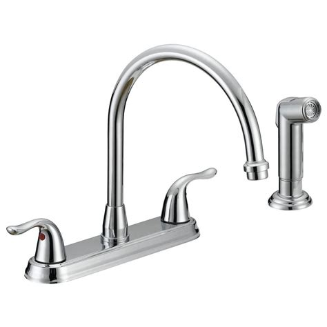 gorgeous kitchen faucet home depot on moen ca87527 chrome kitchen faucet with side spray from