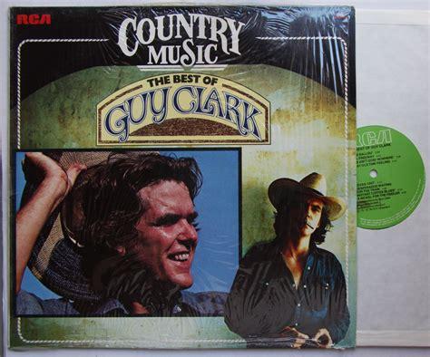 Guy Clark Records, Vinyl And Cds