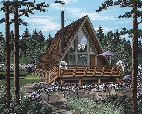 a frame cabin plans house plan 24308 at familyhomeplans