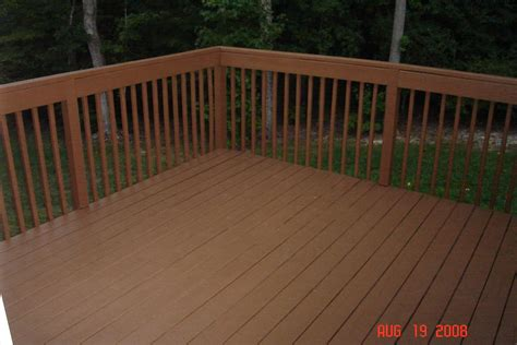 deck power washed primed stained rob ainbinder digital