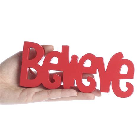 """Bright Red Wooden """"believe"""" Sign  Wood Cutouts. Refrigerator Repair Rochester Ny. Business Account Software Echo Horizon School. What Are The Benefits For First Time Home Buyers. Bcom Accounting Subjects Credit Rewards Cards"""