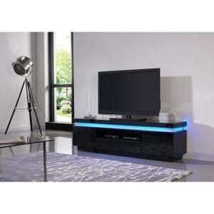 meuble tv noir led achat vente meuble tv noir led pas cher cdiscount