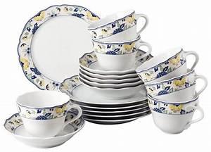 Geschirr Blau Weiß : hutschenreuther kaffeeservice porzellan papillon 18tlg online kaufen otto ~ Markanthonyermac.com Haus und Dekorationen