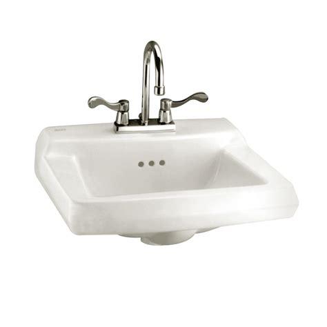 Home Depot Bathroom Sinks Canada by American Standard Comrade Wall Mount Bathroom Sink For