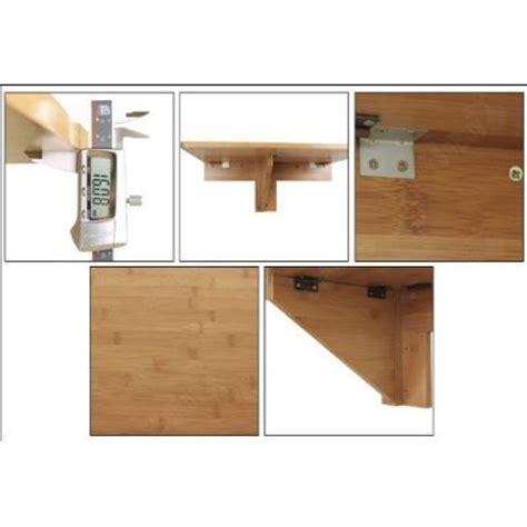 table pliable au mur