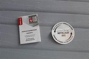 Matratzen Für Bauchschläfer Test : bodyguard anti kartell matratze bett1 test stiftung warentest testsieger ~ Markanthonyermac.com Haus und Dekorationen