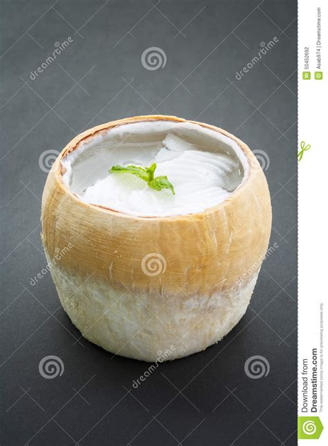 agar de noix de coco dessert asiatique photo stock image 50452692