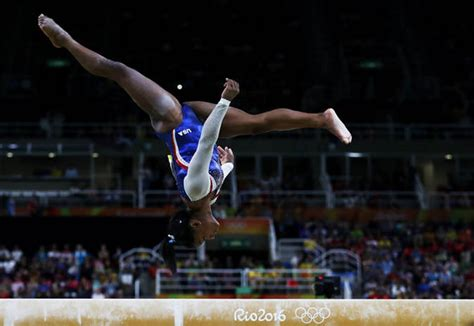 2016 biles storms to victory with second