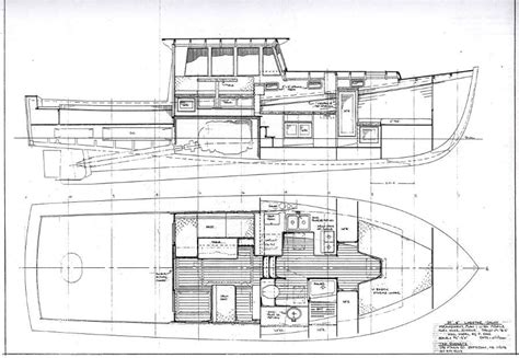 John S Bay Boat by John S Bay Boat Lobsteryacht 40 Power Boat Designs By