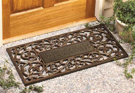 Wooden Outdoor Welcome Mats Offer Many Benefits To
