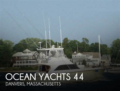 Ocean Boats For Sale Massachusetts by Canceled Ocean Yachts 44 Boat In Danvers Ma 091188