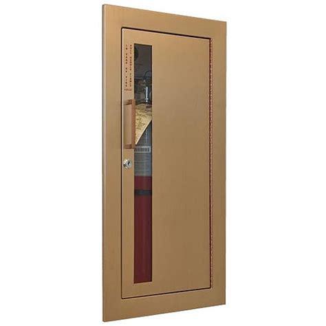 recessed extinguisher cabinet jl industries cavalier