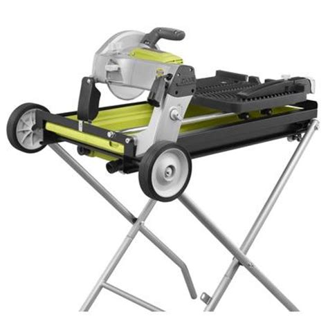 ryobi ryobi portable tile saw with laser 7 inch home depot canada ottawa