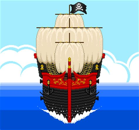Boat Maker Cartoon by Pirate Ship Animation Commission By Hunter Studios On