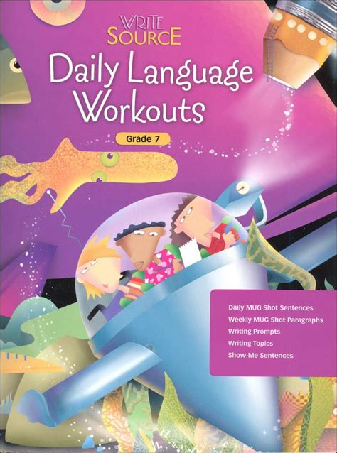 Write Source (2005 Ed) Daily Language Grade 7 (030986) Details  Rainbow Resource Center, Inc