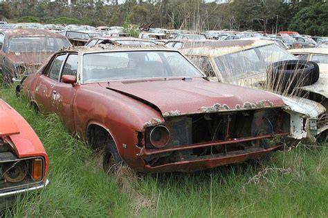 Abandoned Cars At Flynn's Wrecking Yard, Nsw  Urban Ghosts