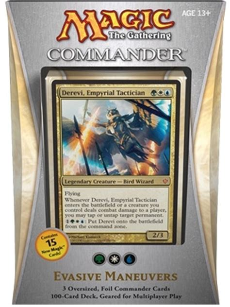 commander 2013 evasive maneuvers thema decks bazaar of magic