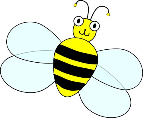 Bee Clip Art Images Black And White
