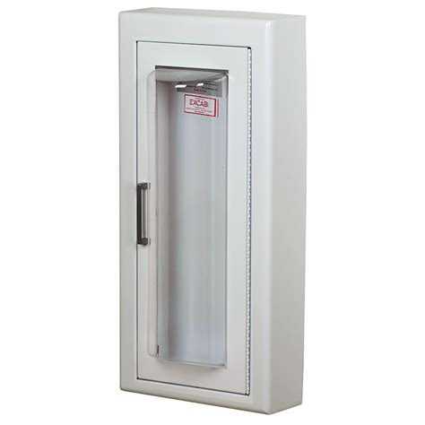 larsen cameo series semi recessed extinguisher