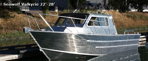 Homemade Cuddy Cabin Boats by The Valkyrie Utility Is A Great Day Trip Fishing Boat With