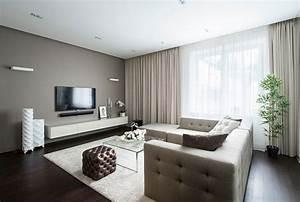 Moderne Wandspiegel Wohnzimmer : amazing of good awesome modern apartment interior design 6446 ~ Markanthonyermac.com Haus und Dekorationen