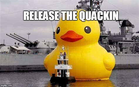 Toy Boat Meme by Giant Rubber Duck Imgflip