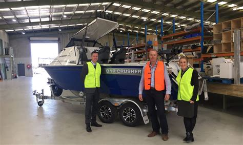 Boat Trailer Manufacturers Victoria by Victorian Boat Manufacturer Wins Government Grant To Boost