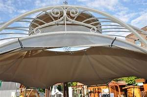 Dach Für Gartenpavillon : dachplane f r unseren pavillon romantik aus metall gartenpavillon dach lkw plane ebay ~ Markanthonyermac.com Haus und Dekorationen