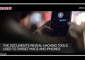 Apple says CIA hacking tools won't work on newer products