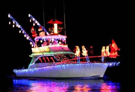 Boat Lights Georgia by Boat Parade Tybee Island Georgia Savannah S Beach