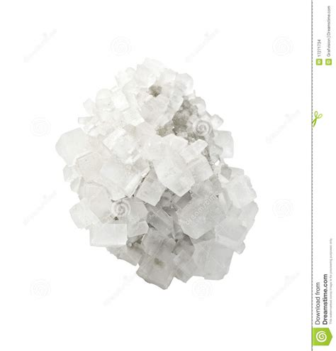 cristal de sel min 233 ral images stock image 17271734