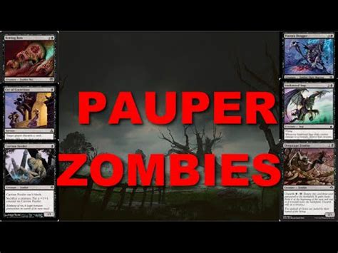 mtg pauper mono black zombies vs black sacrifice 3