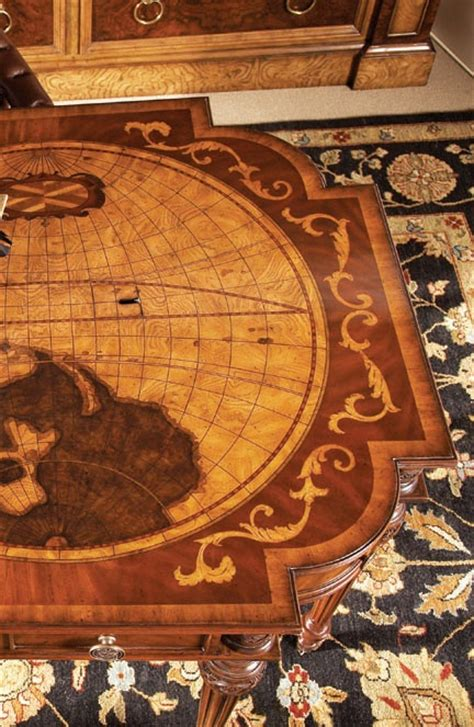 maitland smith world map desk top view choices